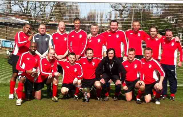 Saturday Vets - League and Cup Double Winners