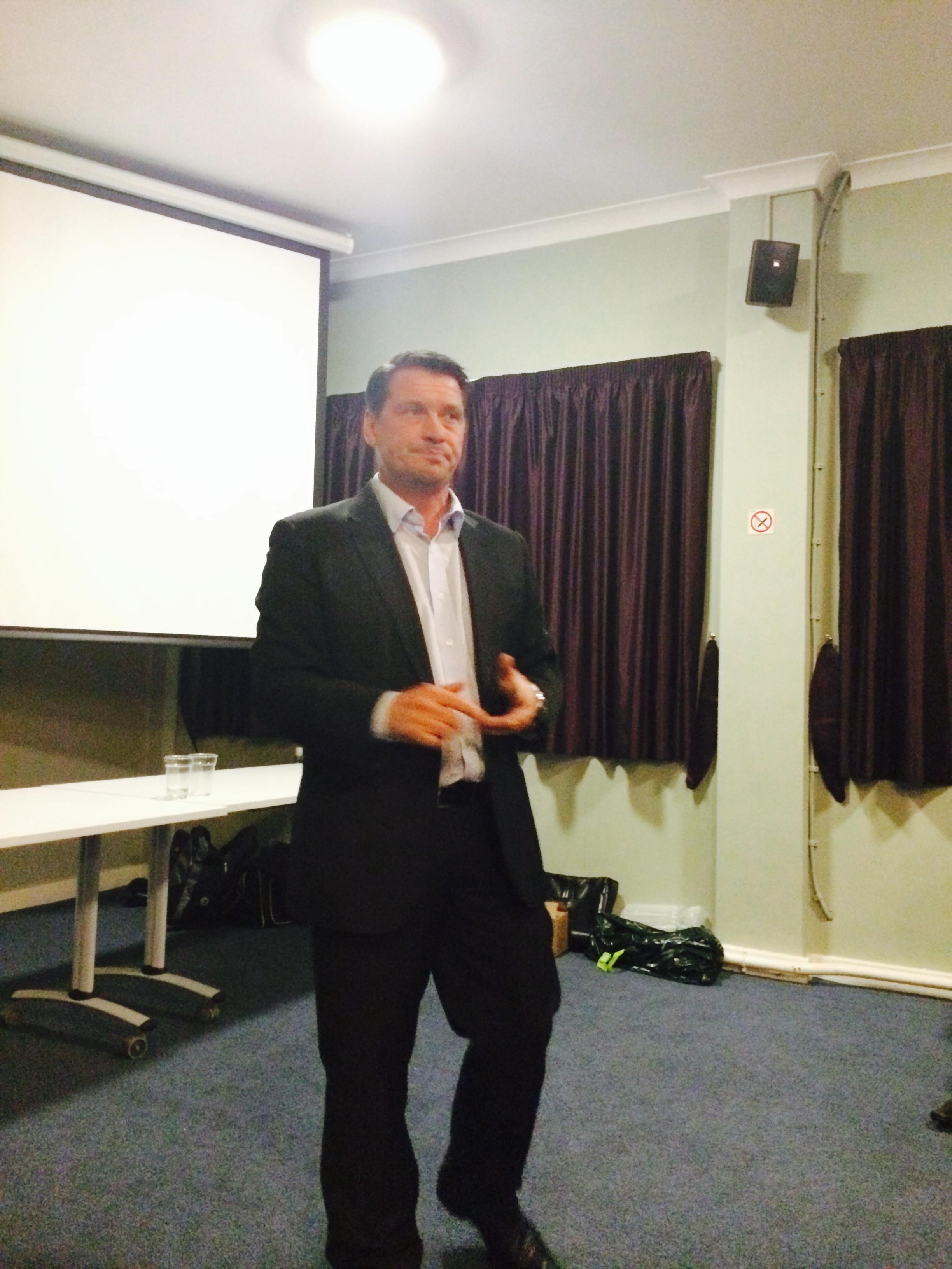 Tony Cottee - Guest Speaker