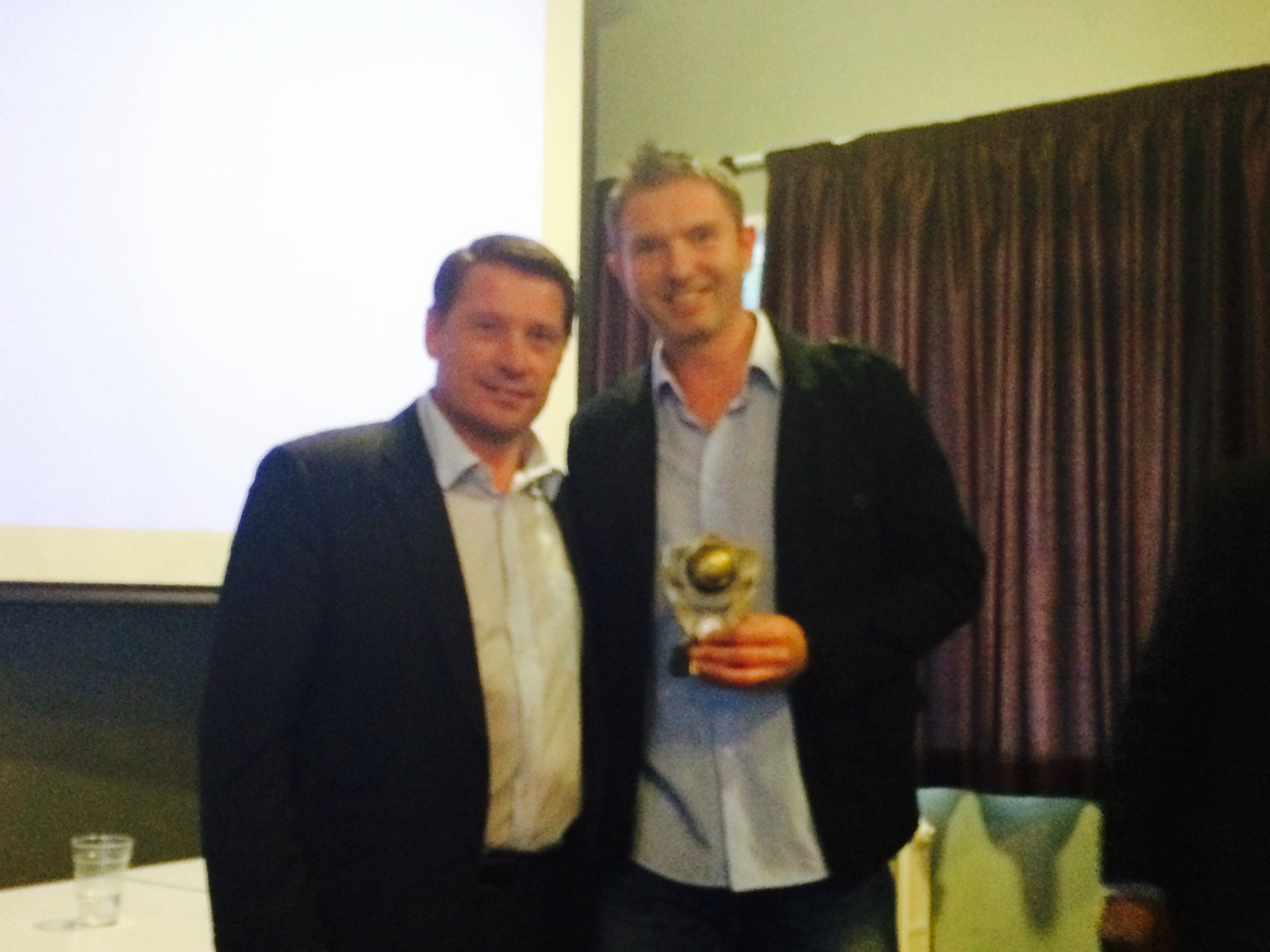 Petr Holecek - Outstanding Contribution Award